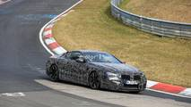 BMW M8 Coupe spied at the Nurburgring