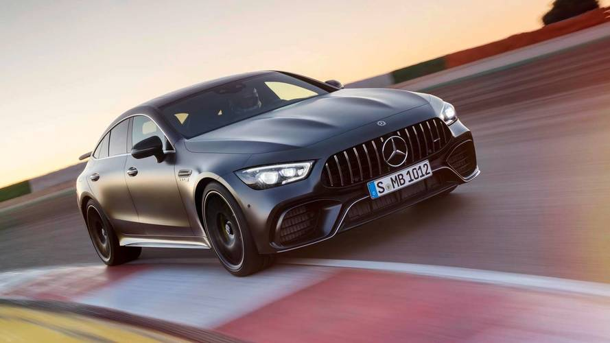 Mercedes-AMG Adapted E63 Wagon's Structure For GT 4-Door Coupe