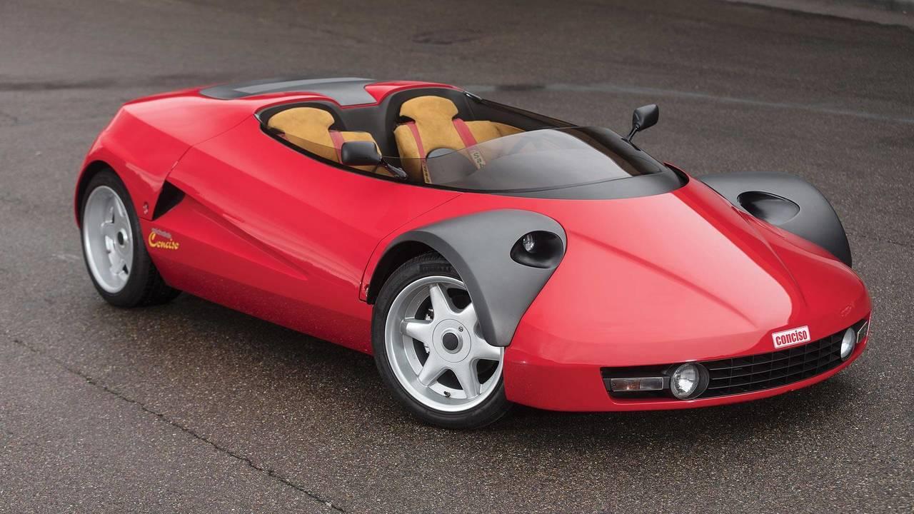 Michalak Tarafından Tasarlanan Ferrari 328 GTS Conciso Konsepti