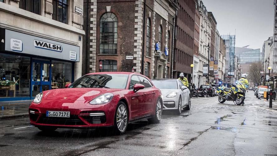 Porsche Panamera Sport Turismo 2018: ahora, transporta oro en Londres