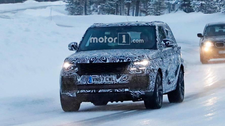 Land Rover Range Rover Coupé - Flagra