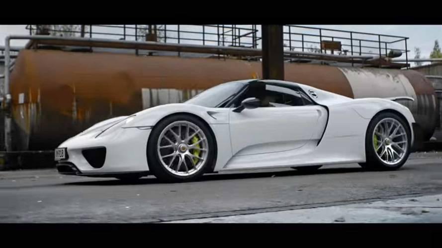 See Baby Driver Trade Subaru For A Porsche 918 In 'Top 5' Series