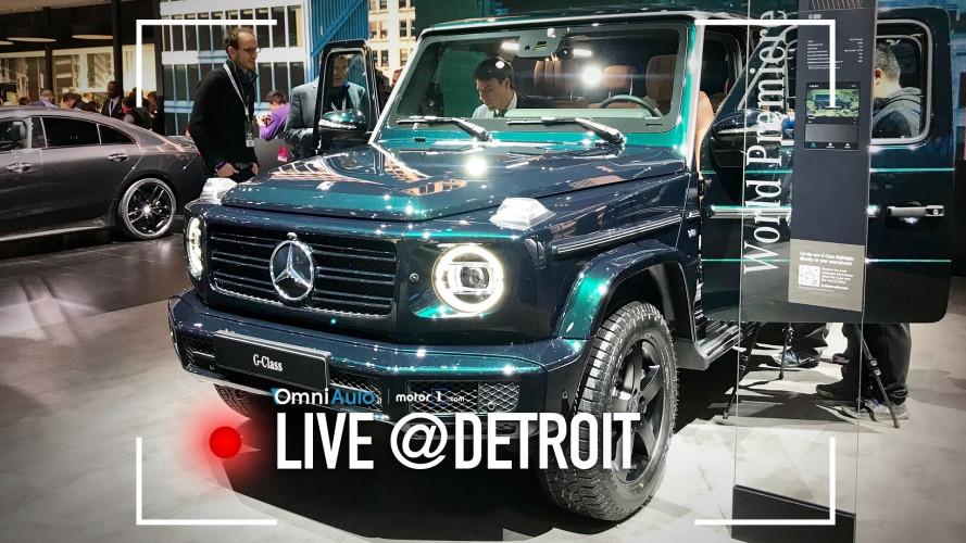 Nuova Mercedes Classe G, eternamente offroad