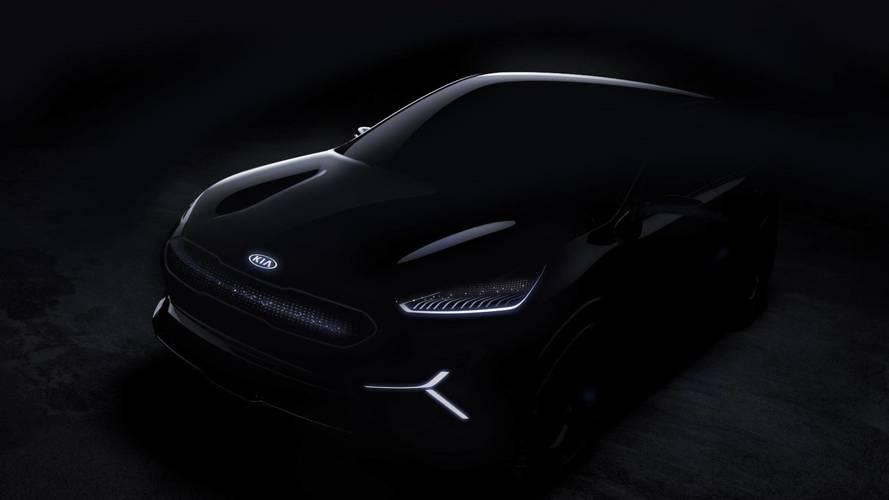 Kia Niro EV concept teaser