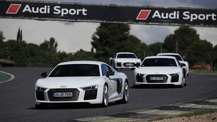 Audi sportscar driving experience, conducimos el R8 en circuito