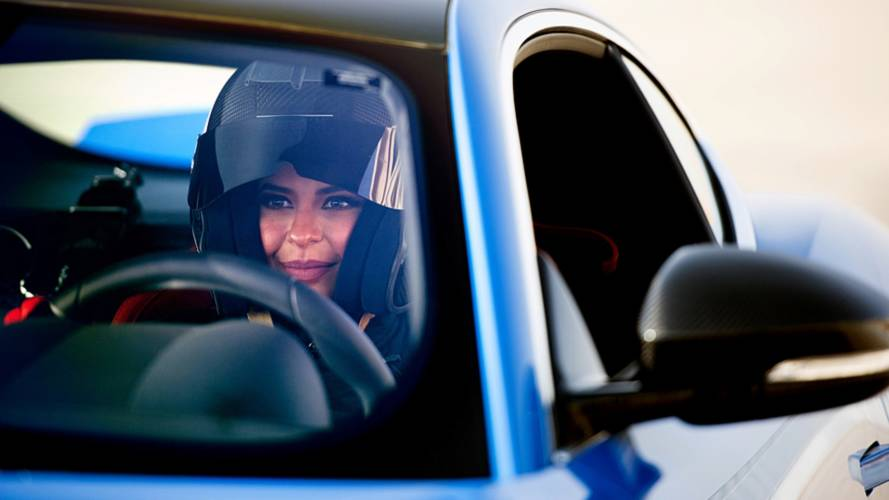 Al Hamad laps track in Saudi Arabia as women driving ban lifts