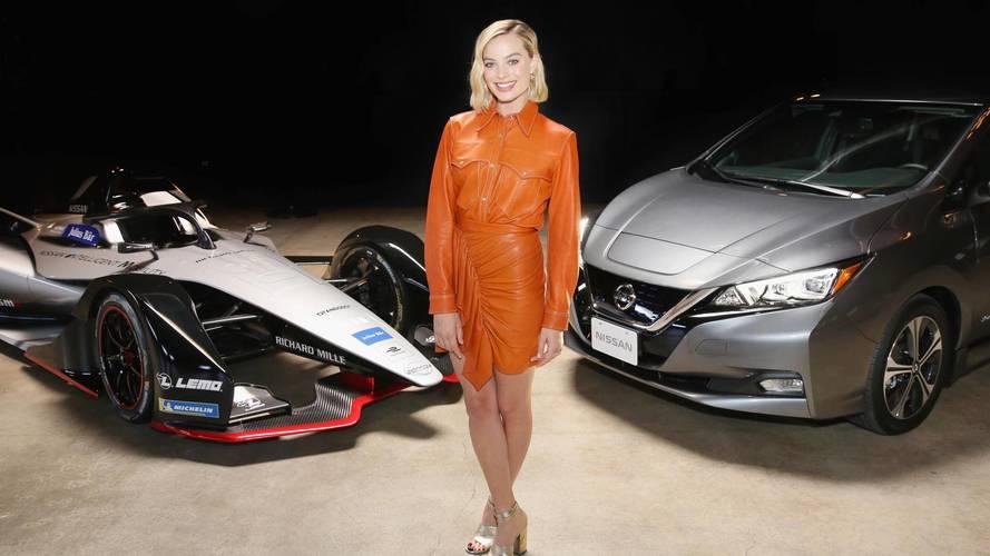 Nissan wraps up Formula E launch tour with Margot Robbie