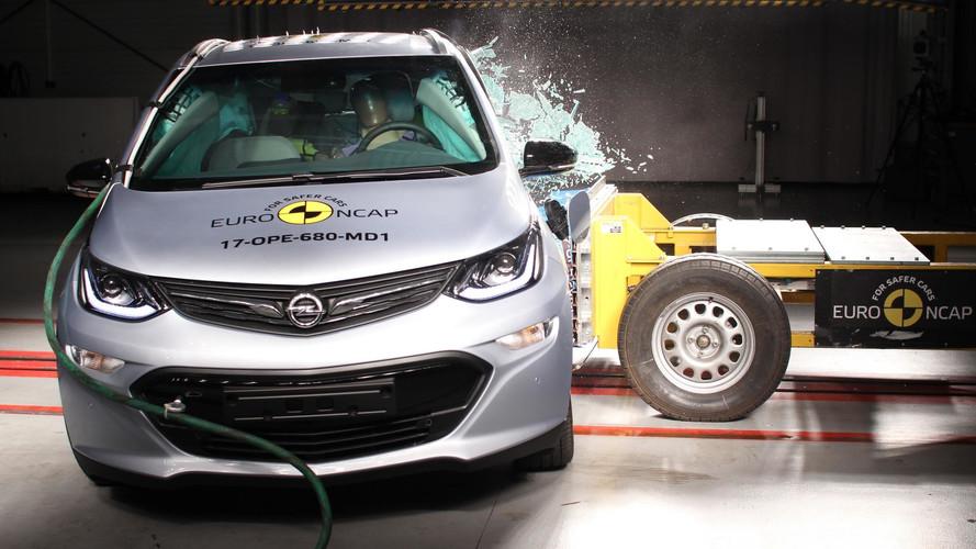 Opel Ampera-E Falls Short Of Top Euro NCAP Crash Rating