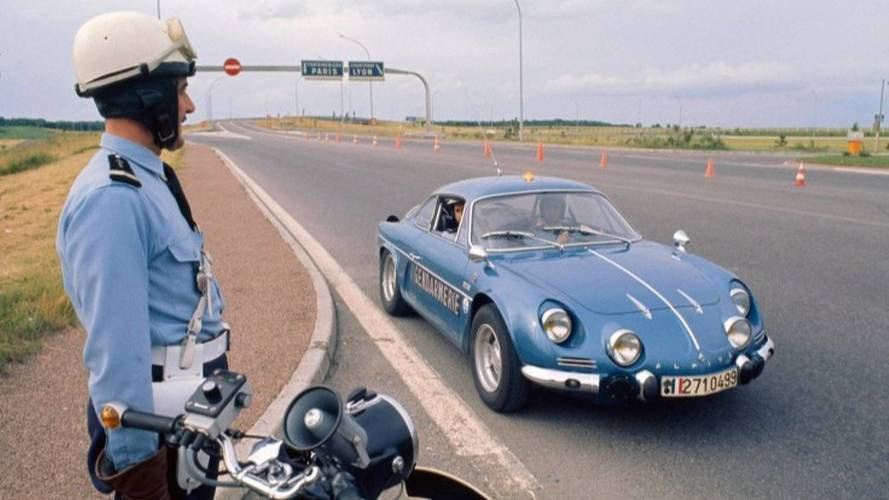 Alpine A110 Police Car