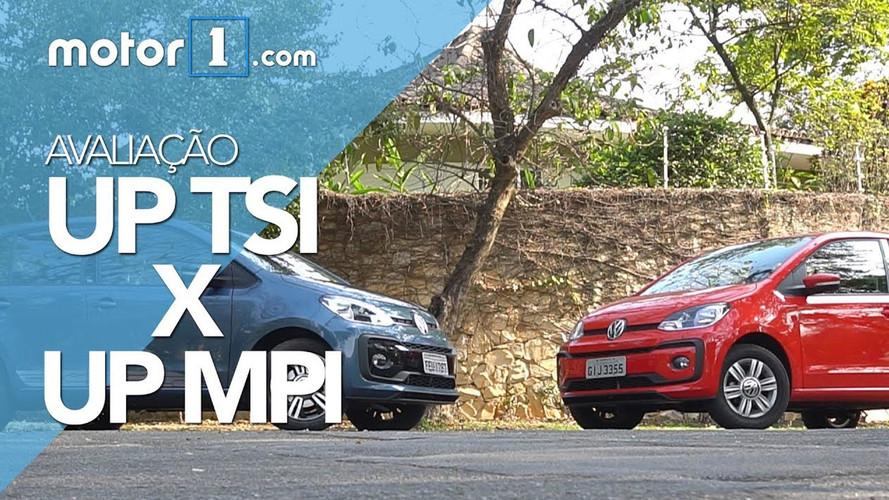 Vídeo - Comparativo VW Up! MPI aspirado encara Up! TSI turbo