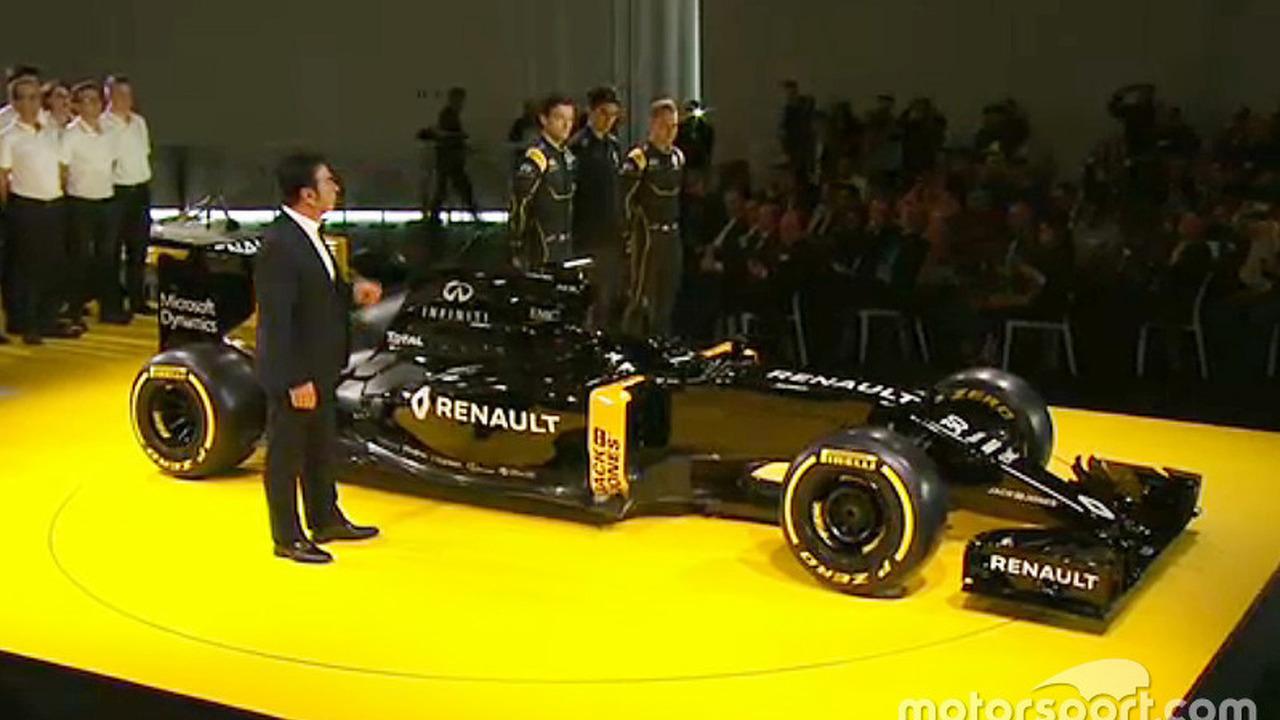 Renault F1 Team livery
