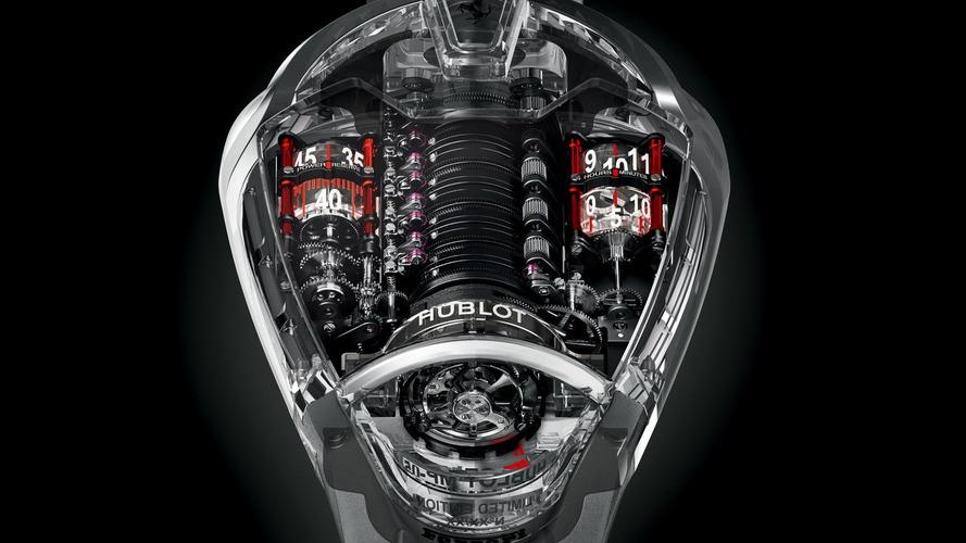 Hublot introduces the Ferrari-inspired MP-05 LaFerrari Sapphire watch
