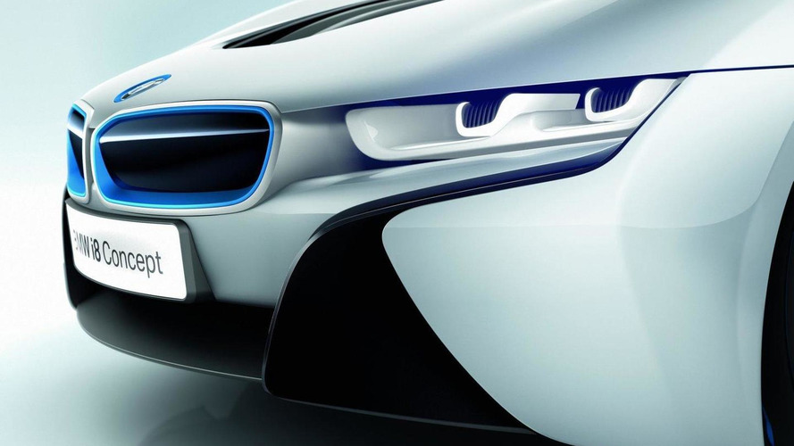 BMW i8 concept's laser lights - new details