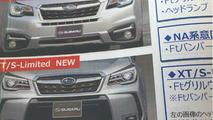 2016 Subaru Forester leaked image