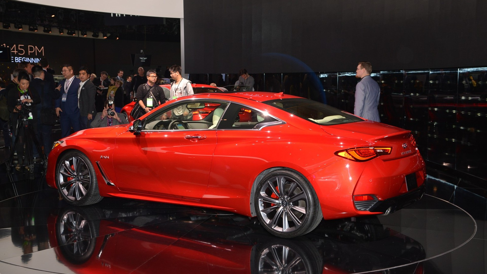 2017 Infiniti Q60 Coupe bows in Detroit with 400 hp biturbo V6 [LIVE