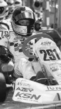 Sebastian Vettel (13), erfolgreicher Kartfahrer aus Heppenheim, 2002