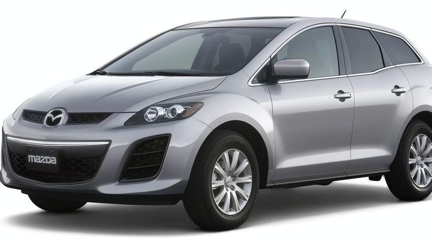 Mazda CX-7 Facelift Debuts in New York