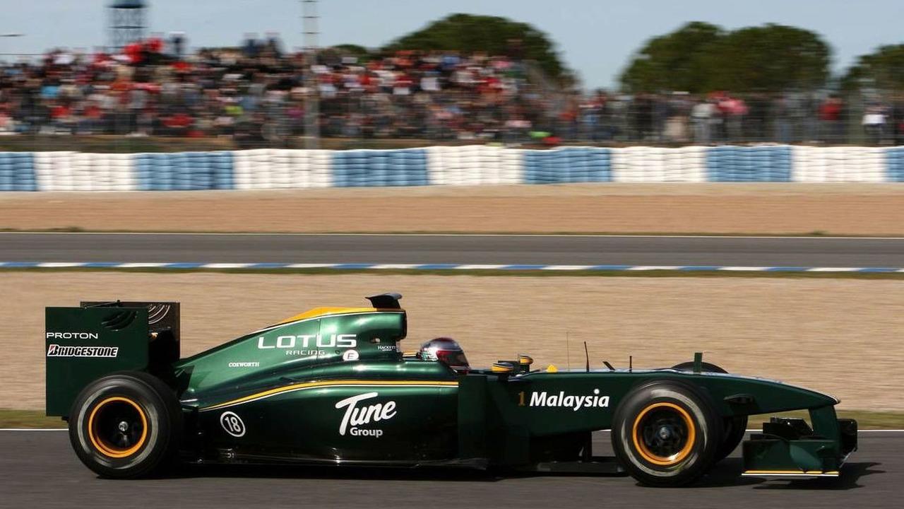 Jarno Trulli (ITA), Lotus F1 Team, T127 - Formula 1 Testing, 20.02.2010, Jerez, Spain