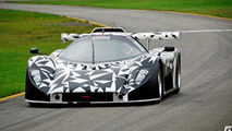 Saker GT supercar prototype spy photo