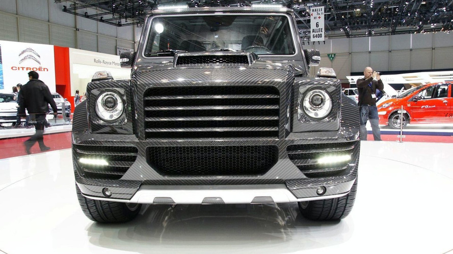 Mansory G-Couture - Mercedes G 55 AMG on High Carbon Fiber Diet