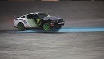 Drift-off: Vaughn Gittin Jr. versus RC car [video]