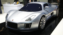 Gumpert Tornante by Touring live in Geneva