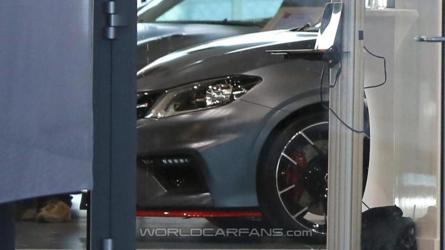 2015 Nissan Pulsar Nismo spotted partially undisguised ahead of this week's reveal in Paris