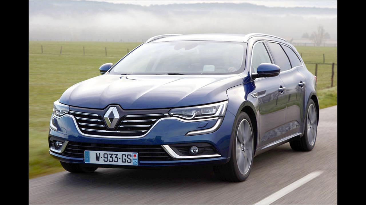 Mittelklasse: Renault Talisman als stärkster Gewinner