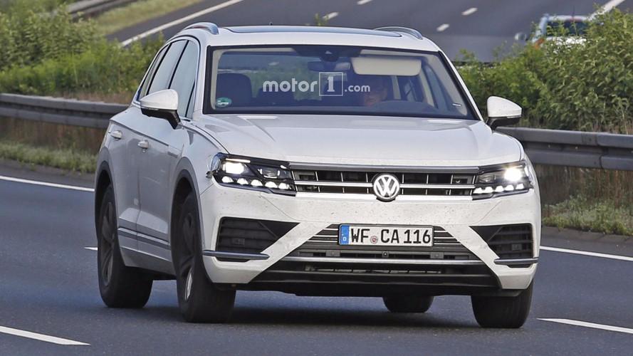 2018 VW Touareg Kémfotók