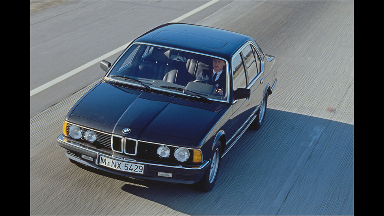 Platz zehn seit 1999: BMW E23 735i