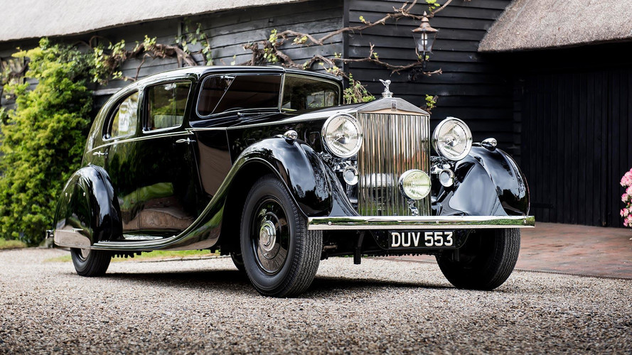 Unique 1936 Rolls-Royce Will Pose At New Generation's Premiere