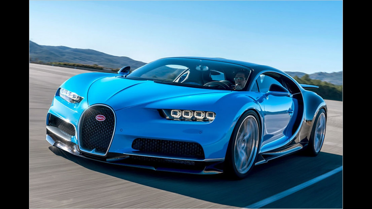 2. Platz: Bugatti Chiron