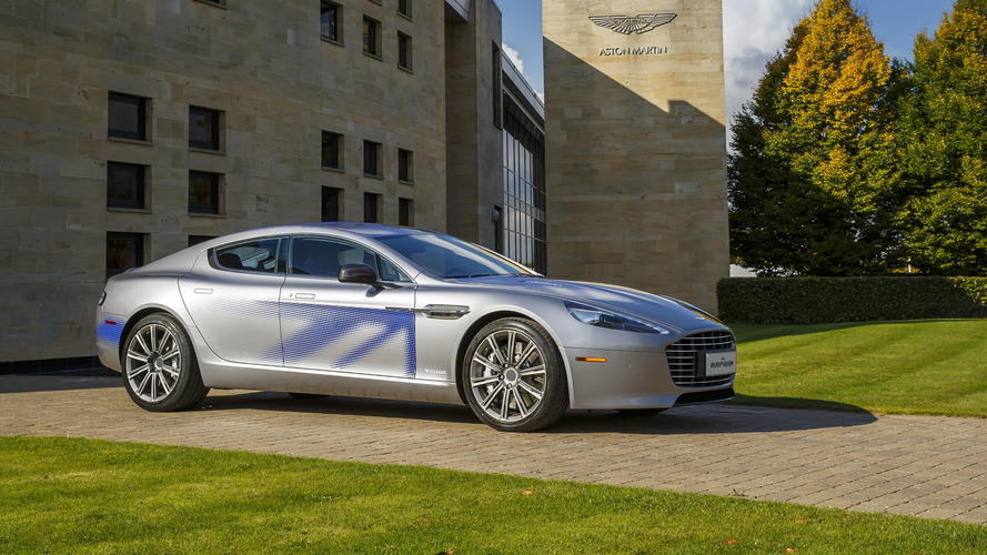 Aston Martin Rapide To Lose V12 Engine And Go Electric In 2018