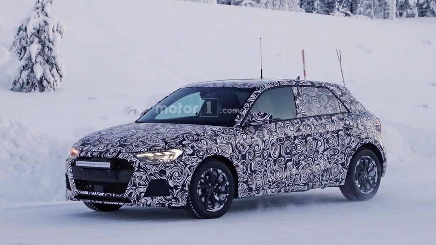 Audi A1 2018, fotos espía en los test invernales