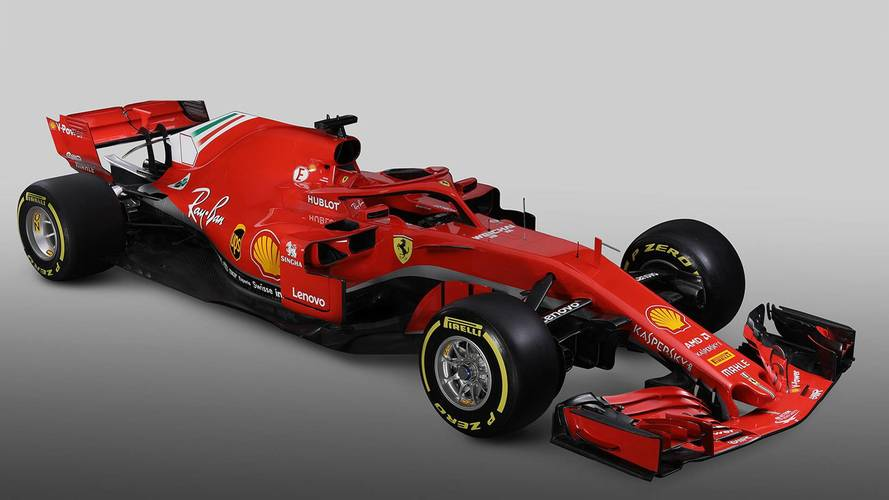 Ferrari shows off its new 2018 F1 car