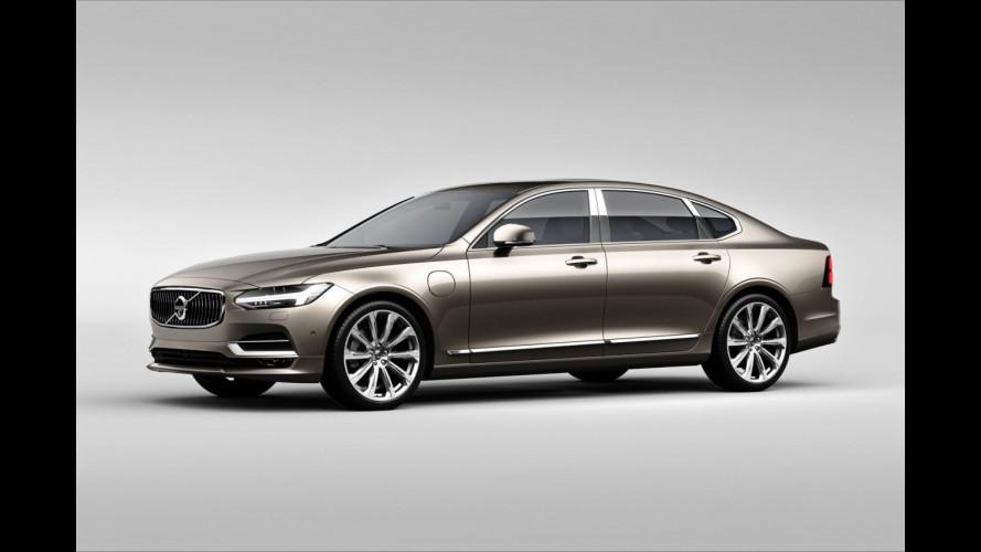 Volvo S90 Excellence, svedese fatta in Cina