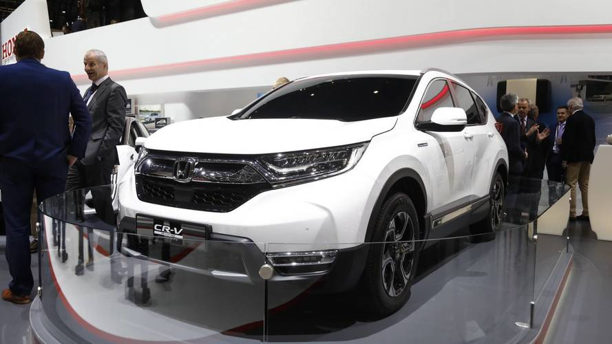New Honda CR-V Euro Spec Live From Geneva Motor Show