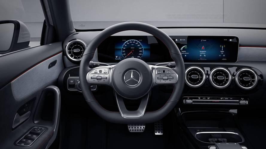 2018 Mercedes A-Class hatchback AMG Line