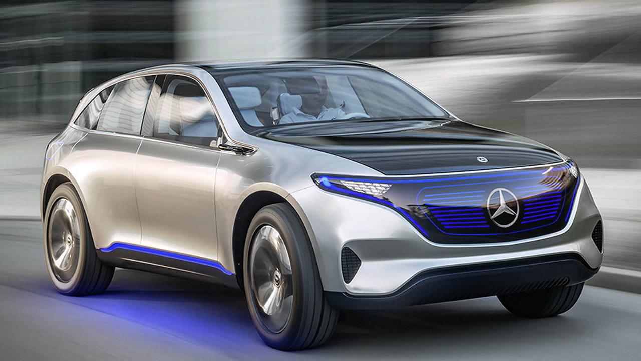 Mercedes EVA: EQA und EQC