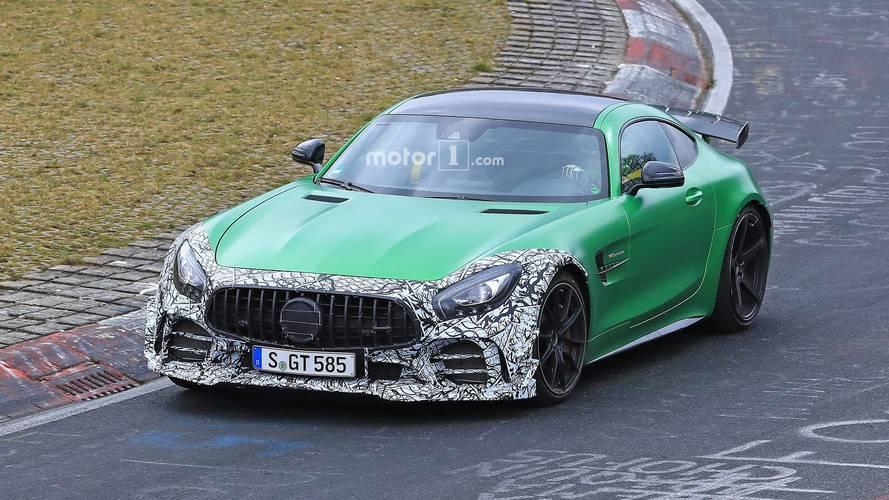 Une mystérieuse Mercedes-AMG GT R au Nürburgring