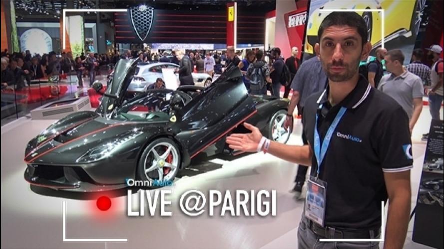 Salone di Parigi, LaFerrari Aperta si compra così [VIDEO]