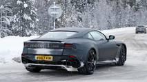 Yeni Aston Martin Vanquish karda test edilirken yakalandı