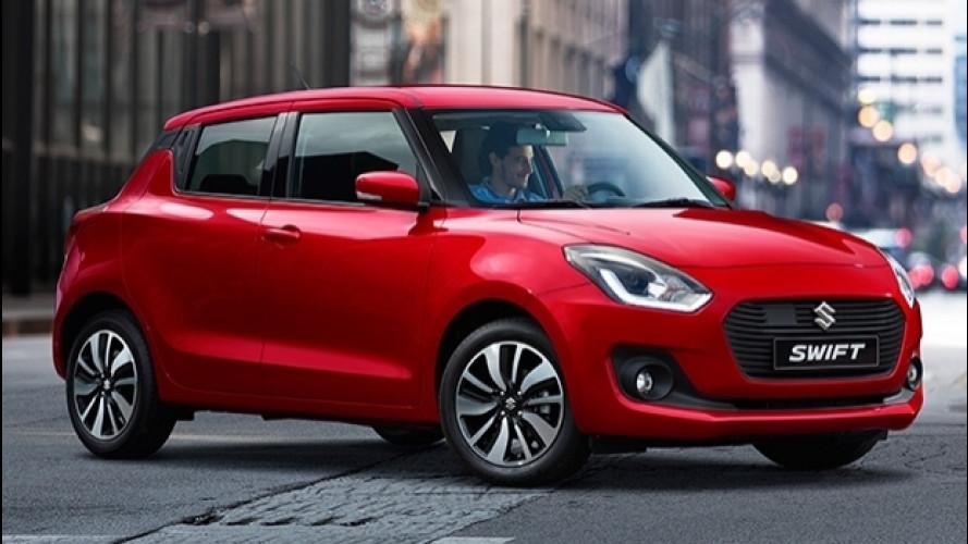 Nuova Suzuki Swift, meno cm e più spazio [VIDEO]
