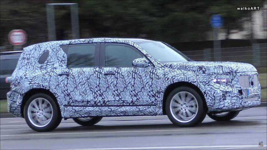 Boxy Mercedes-Benz GLB-Class SUV Spied On The Move