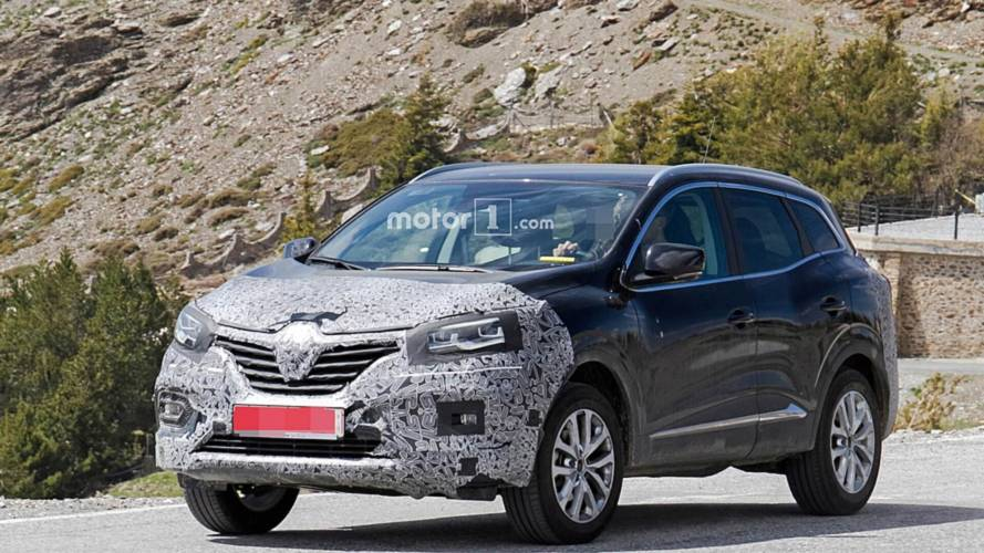 2019 Renault Kadjar facelift spy photos