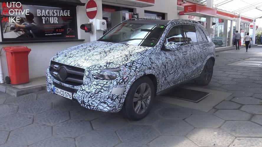 Yeni Mercedes GLE'nin Nürburgring'deki test videosunu izleyin