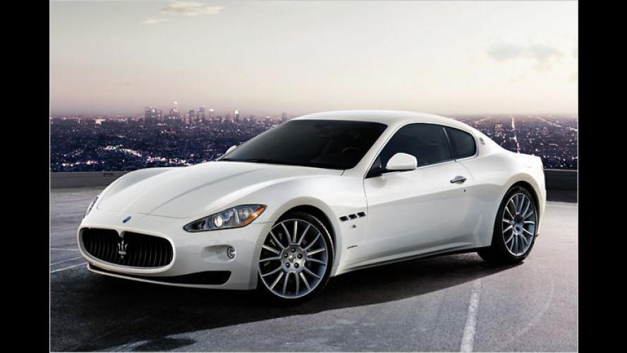 Maserati präsentiert in Genf den GranTurismo S Automatic
