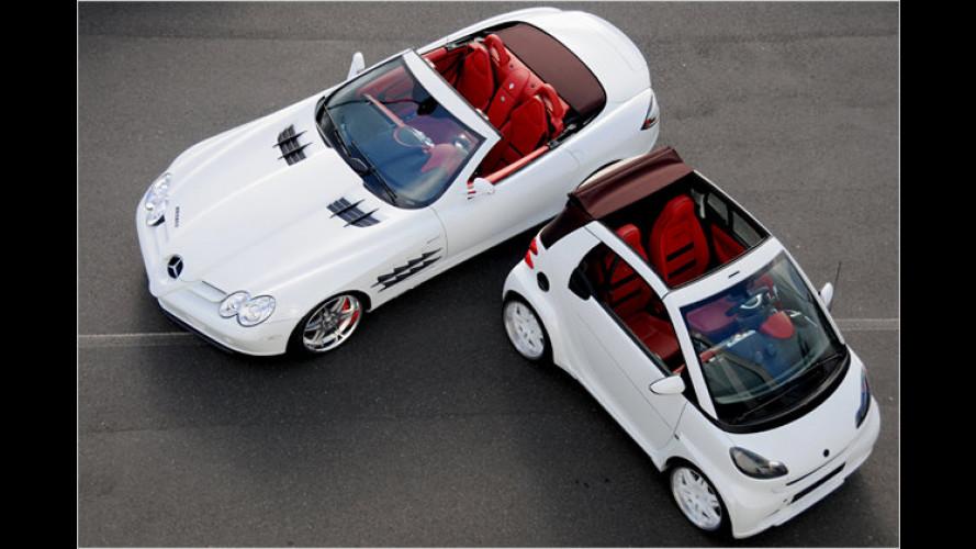 Weltpremiere in Genf 2008: Weißes Doppel von Brabus