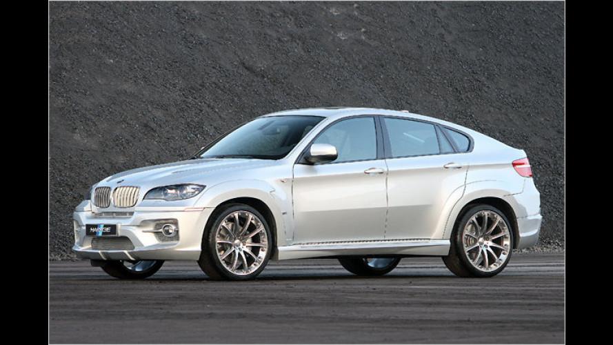 BMW X6 von Hartge: Diesel-Zweitonner als Sprinter-Star