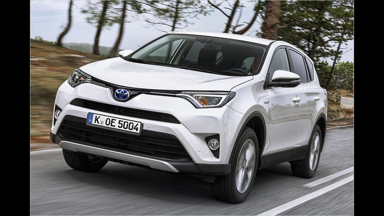 Mittlere SUVs: Toyota RAV4